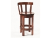 535-Barrel Barstool with Meribeth Top-RH