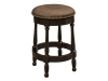 Cosgrove Barstool: Leather Seat-RH