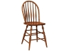 Bent Feather Stationary Bar Stool-FN