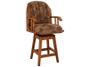 Delray Swivel Bar Stool-FN