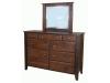 Ashton 9 Drawer Dresser with Mirror-SC