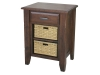 Ashton Nightstand with Baskets: AN1400-SC