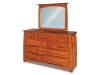 Boulder Creek: JRBC-067-1 Dresser w/Mirror-JRBC-030-JR
