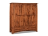 Boulder Creek: JRBC-050-1 Double Wardrobe Armoire-JR