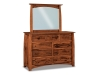 Boulder Creek: JRBC-058-5 Dresser- JRBC-030 Mirror-JR