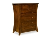 Caledonia 6 Drawer Chest-CL-426-D-SM