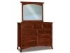 Carlisle Mule Dresser: JRC-058-Mirror: JRC-030-JR