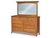Carlisle Mule Dresser: JRC-073-Mirror: JRC-031-JR