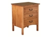 Granny Mission 3 Drawer Night Stand: GN2203-SC