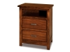 JRF-029-2 Flush Mission Nightstand-JR