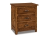 JRF-027-Flush Mission Nightstand-JR