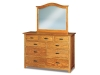 JRF-057 Flush Mission Dresser-JRS-033 Mirror-JR