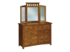 JRF-058 Flush Mission Dresser-JR