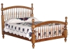 096-Bow Spindle Bed-IT