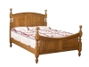 099TP-Bow Panel Turned Post Bed-IT