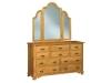 JRH-066 Hoosier Heritage Dresser-JRH-049 Mirror-JR