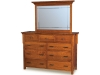 KPMD-11 Kingston Prairie Dresser and KPGM-20 Mirror-HO