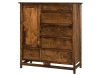 Lakota Door Chest: LDC5306-SC