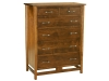 Lakota 6 Drawer Chest: LC3606-SC