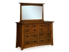 MS-659D-Mesa Dresser with Mirrow-MS-32MR-SM