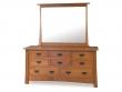 Modesto Dresser and Mirror - SM
