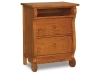 JRO-029-2: Old Classic Sleigh Nightstand-JR
