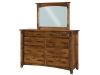 Tacoma: TD609M Dresser-TM4W Mule Mirror-SC