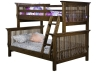 071-Full-Twin Mission Bunk Bed-IT