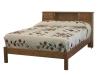 017-Bookcase Headboard Bed-IT
