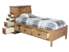 Headboard Storage Bed-Open-BC8D-SC