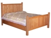Shaker Bed with Storage Drawer Rail-SC