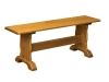Traditional Trestle Bench-AJ