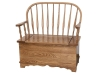 Bent Feather Storage Bench-AJ