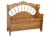 Sunrise Spindle Storage Bench-AJ
