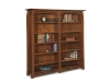 Boulder Creek Double Bookcase-FV