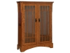 HMWB20-Midway Mission Bookcase-Seedy Glass-HB