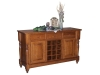 140-Harvest Buffet with Wine Rack-WW