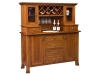 112-Old Century Wine Buffet with Hutch-WW