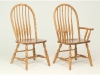 Bent Feather Bow Chair-RH