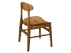 Marque Side Chair: Back Detail-FN
