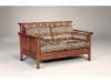242-Highback Panel Loveseat-AJF