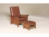 320 Clearspring Panel Morris Chair and 360 Ottoman-AJF