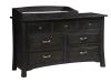 Addison 7 Drawer Dresser with Top: 1207-OT