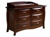 Cayman 6 Drawer Dresser w/Box Top #625-OT