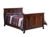 Cayman Double Bed with Panel Footboard #1101B-OT