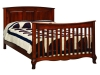French Country Double Bed with Slats-OT