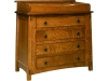 McCoy 4 Drawer Dresser-With Changer-OT