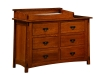 McCoy 6 Drawer Dresser-With Changer-OT