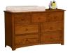Monterey 7 Drawer Dresser-OT
