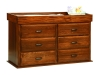 Reversible 6 Drawer Dresser-Changer-OT
